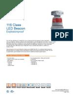 Edwards Signaling 116EXC Data Sheet