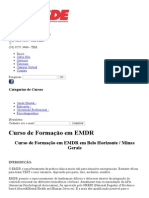 Curso de Formação Em EMDR Em Belo Horizonte _ Minas Gerais _ CESDE - Centro de Estudos e Desenvolvimento Educacional