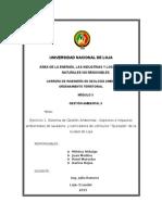 """Ejercicio 1. Sistema de Gestión Ambiental - Aspectos e Impactos Ambientales de Lavadora y Lubricadora de Vehículos""""Quezada"""" de La Ciudad de Loja"""
