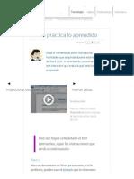 Microsoft Word 2010 - Pon en Práctica Lo Aprendido