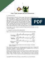 Colour in Biomolecules