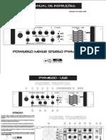 Nca Powered Mixer Pwm1600 Usb - Manual