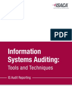 Information Systems Auditing Tools & Techniques