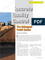 Civil Engineering Construction Quality-Control