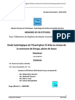 Etude Hydrologique de l'Oued I - OUABDERH Said_1494