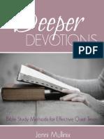 Deeper Devotions eBook