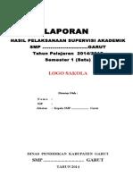 Format LAPORAN  SUPERVISI dan PEMANTAUAN.doc