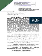 Amparo Contra Orden de Aprehension Alicia Noyola Montalban