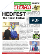 South West Holderness Herald - Issue 2 - June 2015