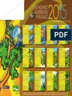 Calendario Ambiental Peruano 2015