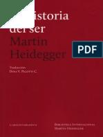 Heidegger, Martin - La Historia Del Ser