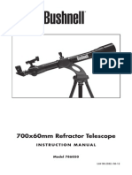 Bushnell 786050 Blue 700x60mm Refractor Tele 6LIM Web