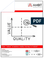 Ambit Capital - Strategy - Can 'Value' Investors Make Money In India (Thematic).pdf