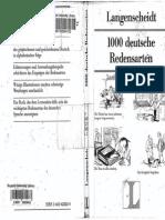 H. Griesbach, D Schulz-1000 Deutsche Redensarten (German Edition)-Langenscheidt ELT GmBH (2000)