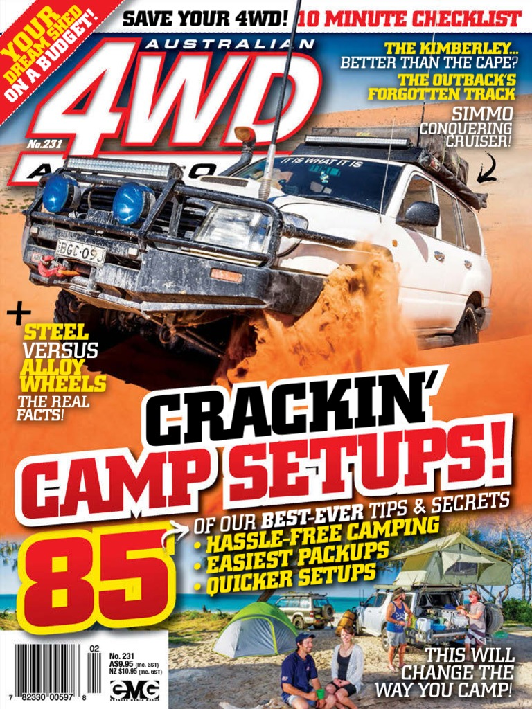 australian 4wd action 231 2015 au turbocharger camping
