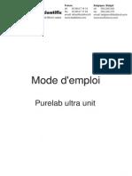 Elg010_en Purelab Ultra Unit Manual