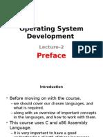 Operating System Development