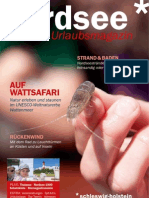 Uraubsmagazin Nordsee 2011
