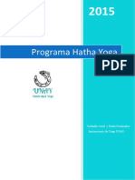Programa Hatha Yoga UNAY