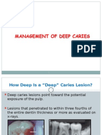8-9-Management of Deep Caries