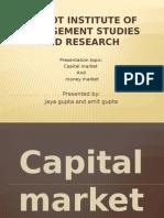 Capital and Money Market