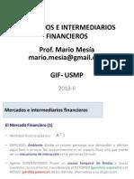 Mercados e Intermediarios Financieros