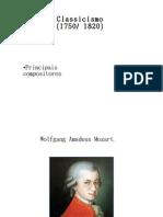 Classicismo ( 1750 / 1820 )