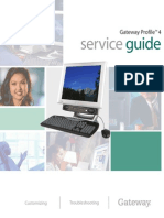 Gateway(Profile 4.5) service manual