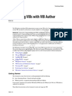vibauthorCustomizing VIBs with VIB Author