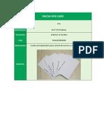 Diacsa Rfid Card