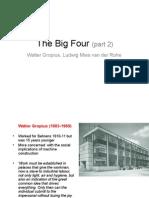 Architect Walter Gropius Study