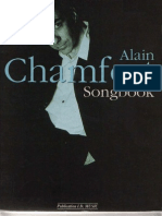 Alain Chamfort - Songbook - Book