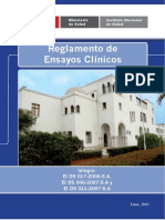 Libro Reglamento Ensayos Clinicos