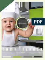 Catálogo Gama Blanca 2015