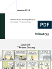 Budgeting for IT Projects - AGA, Denver 05.21.2015