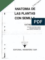 Anatomia de Las Plantas Con Semilla