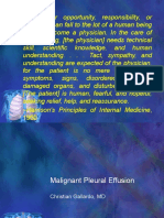 Case Presentation - Malignant Pleural Effusion Edited
