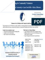Mediation Training Flyer With Dates
