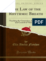 The Law of the Rhythmic Breath Teaching the Conservation and Control of 1000005166