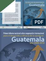 1er Informe Nacional CI 2008-2010