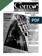 1949 UNESCO Periodico El Correo
