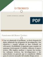 Tema 6 El Marco Teórico
