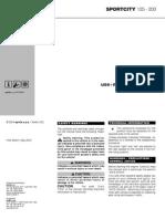 Aprilia Sportcity 125 200 04 Manual