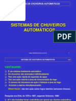 Sistemas de Chuveiros Automaticos Prof Telmo