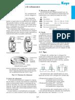 KOYO - Estruturas e Tipos de Rolamentos