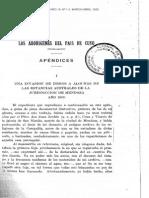 Los Aborígenes Del País de Cuyo (Cap. I) - PP Cabrera