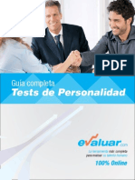 Test Personalidad Folleto