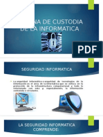 Cadena de Custodia de La Informatica