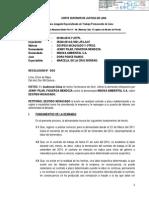 Poder Judicial Ordena Reposicion de Jenny Pilar Figueroa Mendoza
