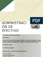 Administracion de Efectivo-trabajo